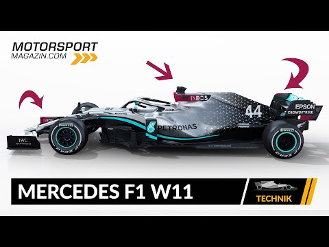 Formel 1 Autos 2020: Mercedes F1 W11 (Technik-Check)