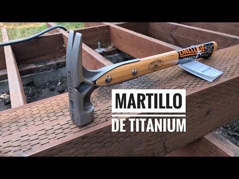 Martillo de TITANIUM