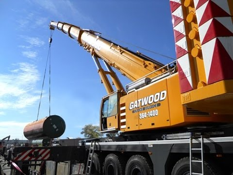 Construction Video For Kids - Crane at Work on Real Jobsite Xcell Int