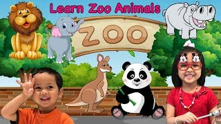 Learn Zoo Animals Names For Kids !! ❤️ Best Educational Video for Children ??