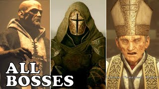 A Plague Tale: Innocence - ALL BOSSES (Boss Fights + Cutscenes)
