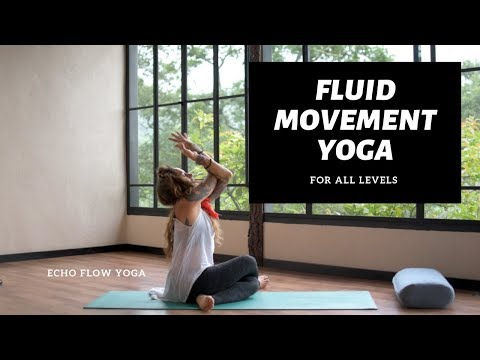 Fluid Movement Yoga All Levels With Echo Flow Yoga