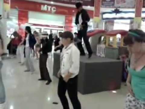 Michael Jackson флешмоб .mp4