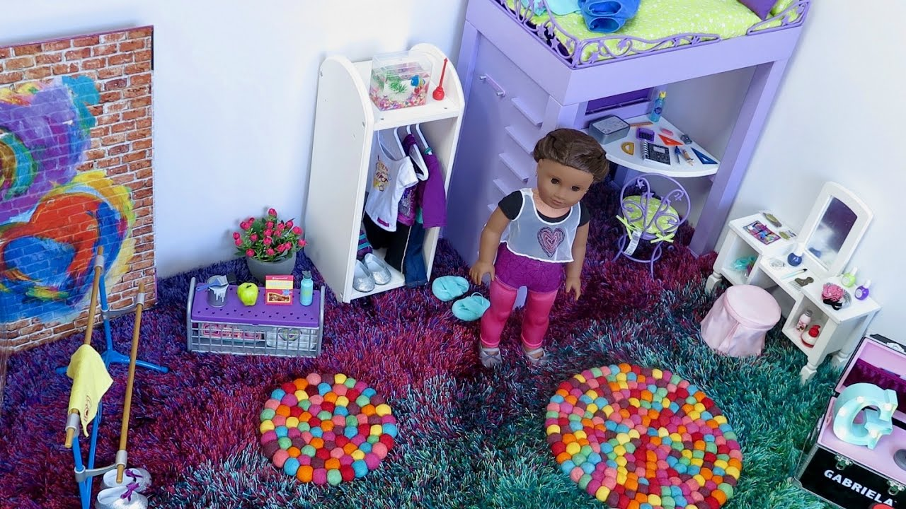 American Girl Doll Bedroom!