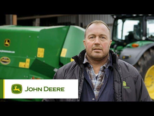John Deere - Témoignage Presse à chambre fixe F441R - Graham Prudham