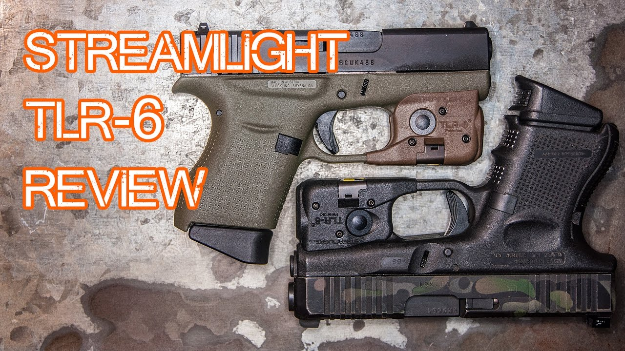 Streamlight Tlr 6 Review Sub Compact Weapon Light Glock 43 Glock