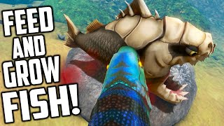 Feed And Grow Fish - BONREX, PIRANHA, NEW FISH, NEW RIVER (Early Access Gameplay)