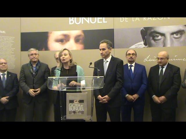 Presentación de la exposición GOYA + BUÑUEL. LOS SUEÑOS DE LA RAZÓN, en el Museo Lázaro Galdiano