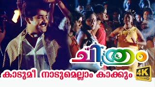 Kadumi nadumellam kakkum (4K Video) - Chithram Malayalam Movie Song | Choice Network