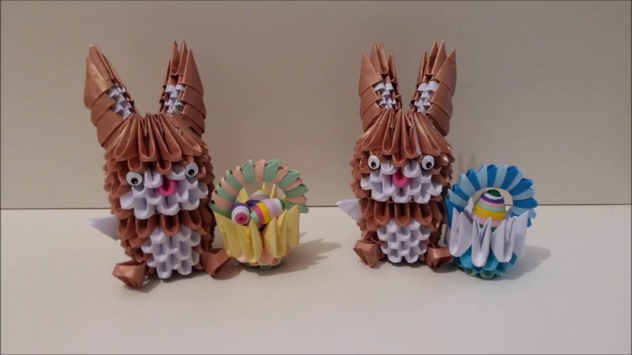 Origami 3d Mini Rabbit