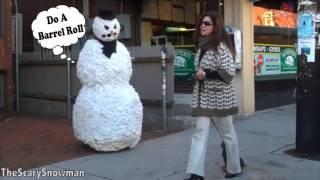 ТОП ЛУЧШИХ ПРАНКОВ СО СТРАШНЫМ СНЕГОВИКОМ | SCARY SNOWMAN