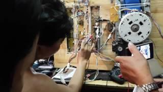 Sanyo inverter D900,hay báo lỗi Ed , dạy sửa board máy lạnh, dạy sửa board máy giặt, Long Quốc Tiền