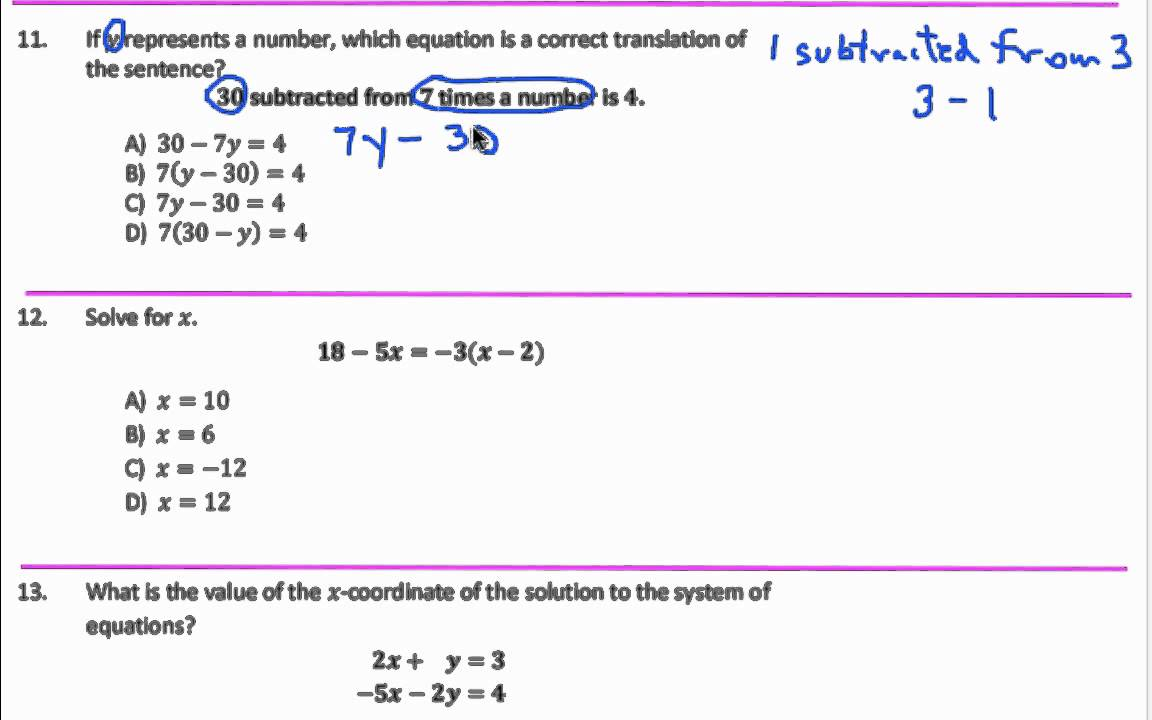 CUNY Assessment Practice Test Questions