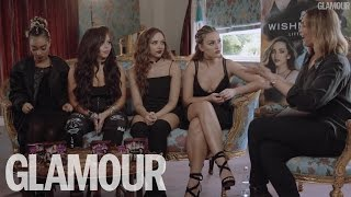 Little Mix talk New Music, Beauty, Hair and Makeup Tips | Beauty Talk | Glamour UK