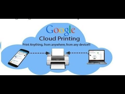 How To Connect Your Any Printer Google Cloud Print Hindi