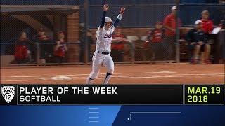 Arizona's Jessie Harper claims Pac-12 Softball Player of the Week