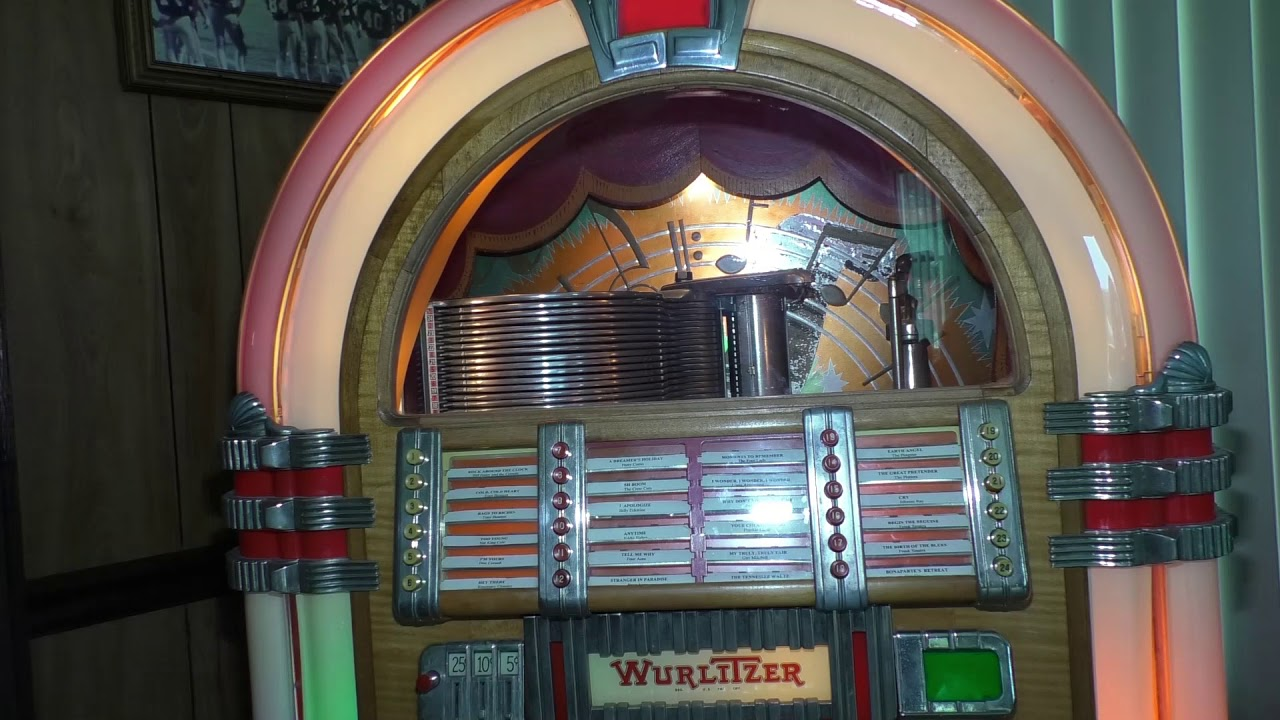 WURLITZER JUKEBOX JUKE BOX MODEL 1015