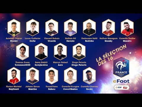 Equipe de France eFoot : le Camp de sélection à Clairefontaine en direct (9h50)