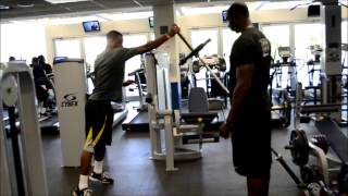 Power and Plyometric NFL Pre-Draft Workout by Tony Thomas Sports