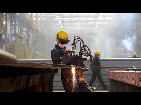 Промежуточный видеоотчет | Выборгский судостроительный завод (апрель)