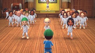 Wii Party U - Dojo Domination - Beginner & Standard Difficulty