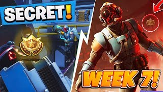 Fortnite: Season 4 WEEK 7 HIDDEN FREE Battle Pass Tier, Challenges + SECRET SKIN (Blockbuster 7)