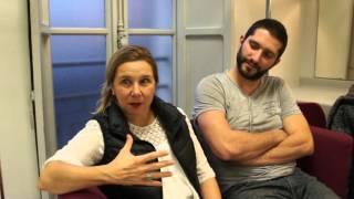 """Reportage """"Je déménage"""" avec Sophie Forte & Régis Moreau."""