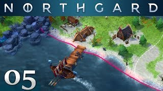 NORTHGARD #05 | Mit dem Langschiff auf Raubzug | Multiplayer German Let's Play Gameplay Deutsch thumbnail