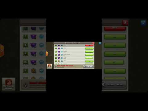 Bug in  clash of clans after update