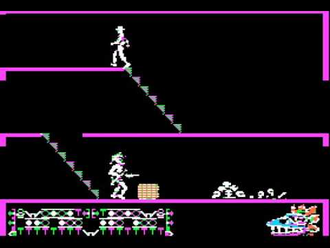 Apple II Game: Aztec (1982 Datamost, Inc.)