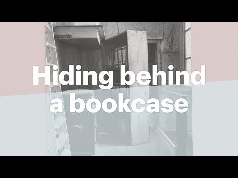 A Bookcase As A Secret Door | Anne Frank House | Secret Annex