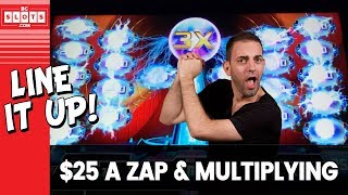 🔌 $25 Per ZAP! 💰 LIGHTNING Zap @ Everything Vegas ✪ BCSlots (S. 24 • Ep. 1)