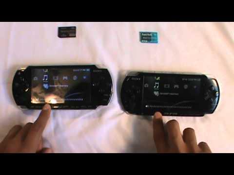 PSP 2000 vs 3000 - YouTube