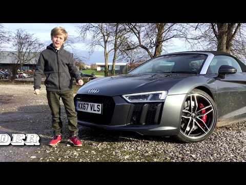 On test: Audi R8 Spyder V10 2017