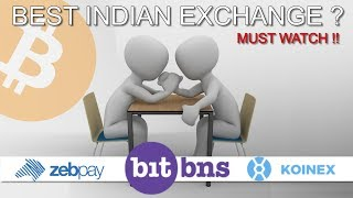 Best Indian Exchange ? Where to Buy Bitcoin ?