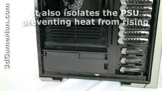 Thermaltake Spedo Advance Package VI90001W2Z Full Tower Gaming Case with Max Airflow and See Through Window Black