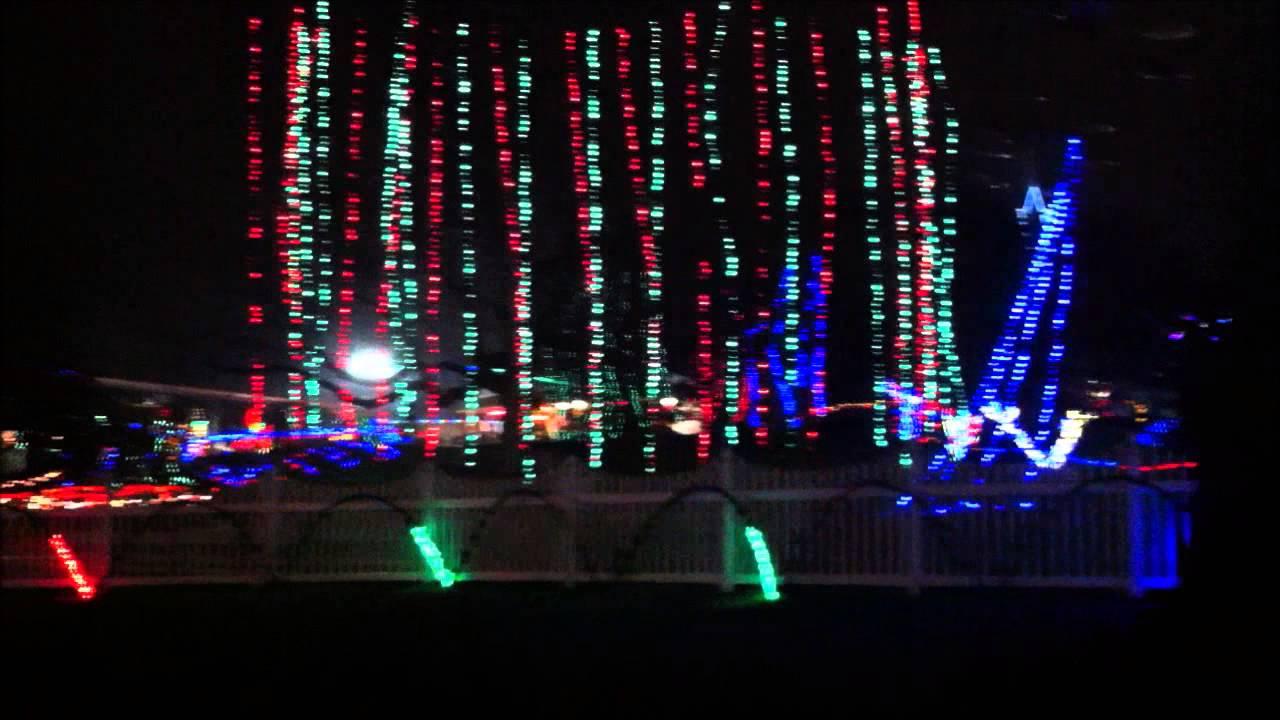 royal holiday light show at dutch wonderland youtube
