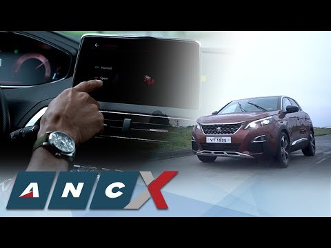 Peugeot 3008 SUV's different driving modes   ANC - X Rev