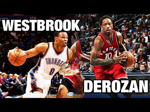 DeMar DeRozan & Russell Westbrook Battle in OKC