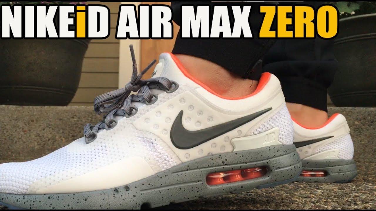 new product 7b317 e4c2c NikeiD Air Max Zero