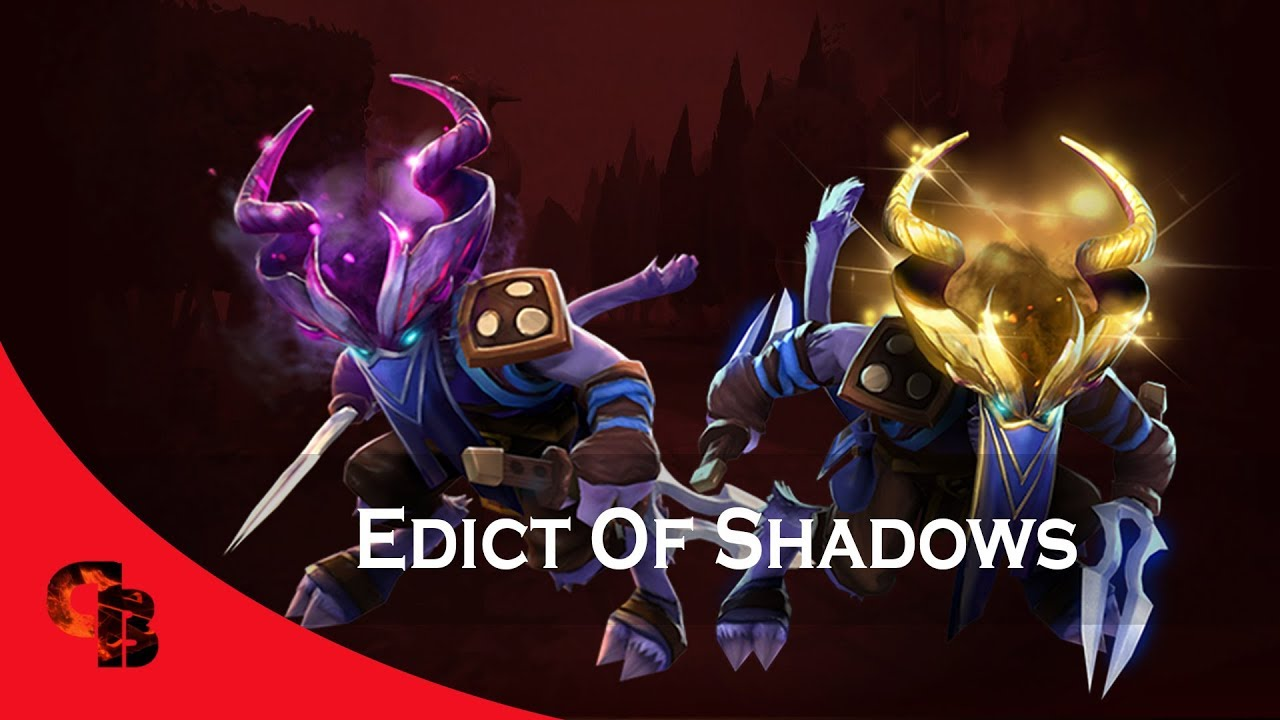 Dota 2 Store Riki Edict Of Shadows Immortal Youtube