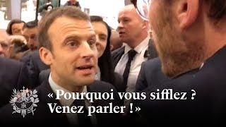 Échange direct au Salon de l'Agriculture | Emmanuel Macron