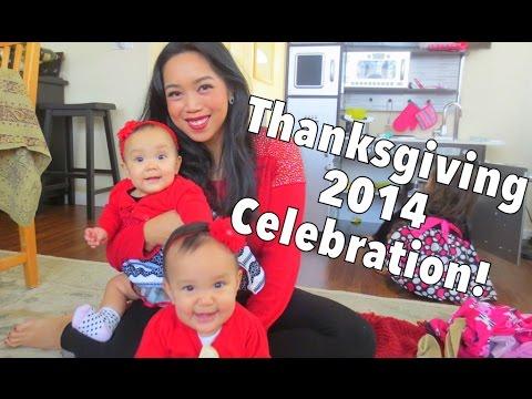 Thanksgiving 2014 Celebration! - November 27, 2014 - itsJudysLife Daily Vlog