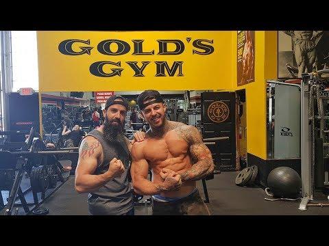 GOLD'S GYM. Entrenando en Los Ángeles con Llados Fitness