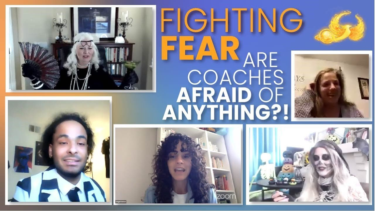 Fears, Imposters, & Coaching the Ghost- Spooky Special