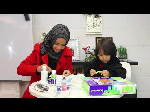 Maryam Masud and Fatima Masud are making Slime for Fun!!