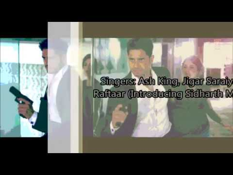 Bandook Meri Laila Lyrics with English Translation | A Gentleman: SSR (2017) | Ash King