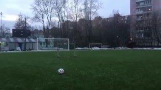 Футбол.Обучение удару.как правильно бить по мячу?#2