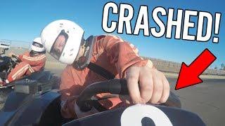 I CRASHED MY CAR