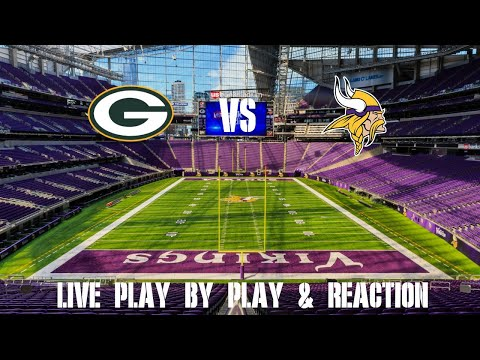 Packers Vs Vikings Live Play By Play & Reaction